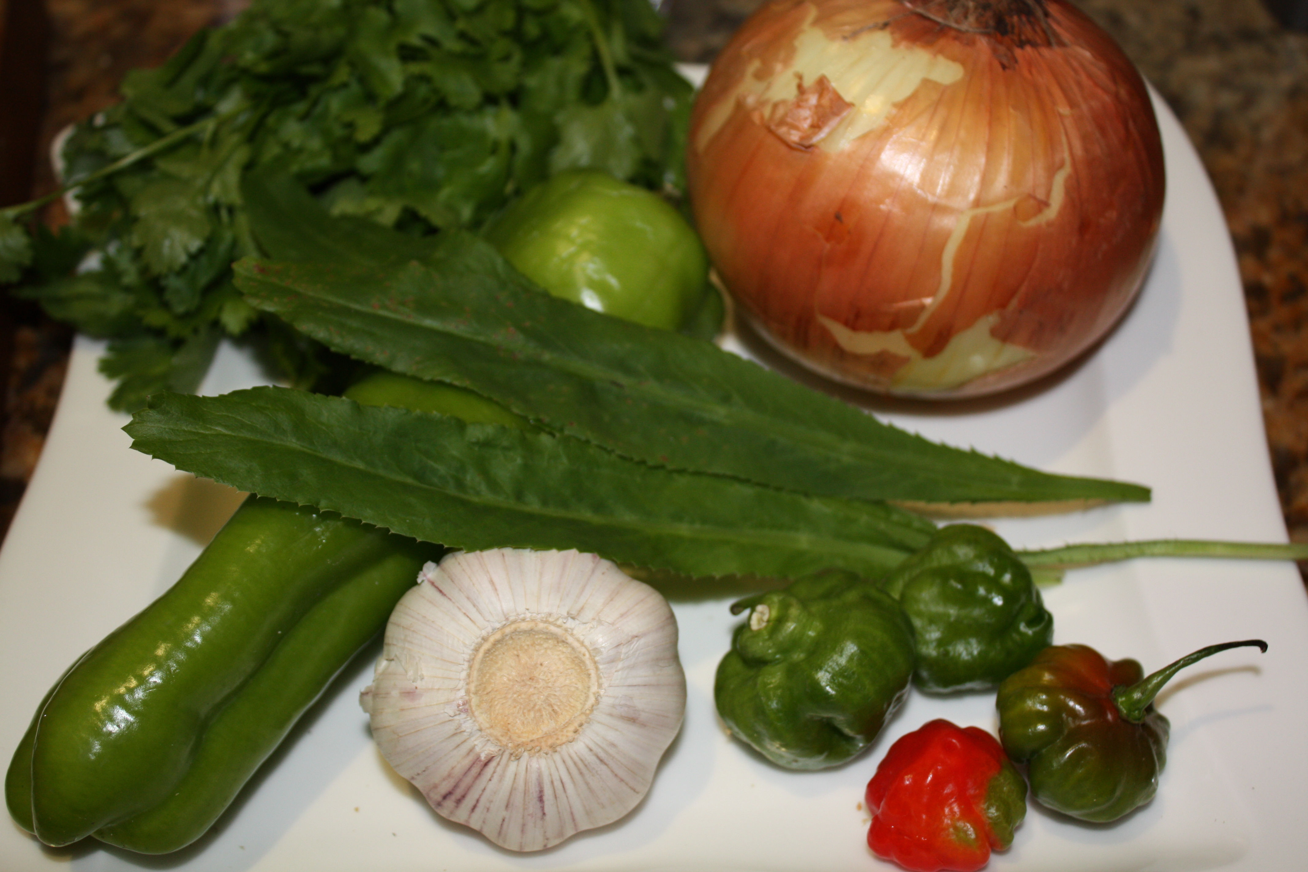 ... for many puerto rican dishes it is key to making sofrito for arroz con